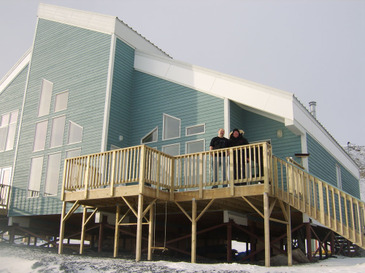 house in artic bay Canada