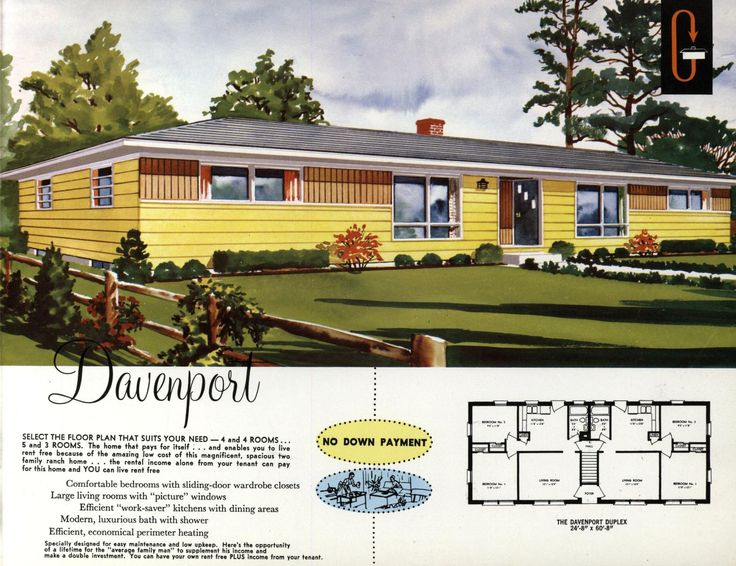 1960s side split suburban house